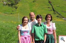 Familie Grüner freut sich auf Sie