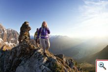 Zahlreiche Wanderrouten in Obergurgl