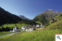 Gletscherdorf Vent